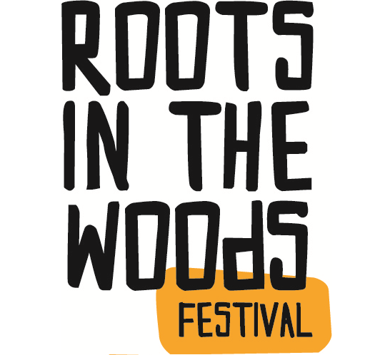 logo Roots in the Woods festival